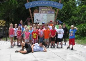 Weedon Island Preserve Camp