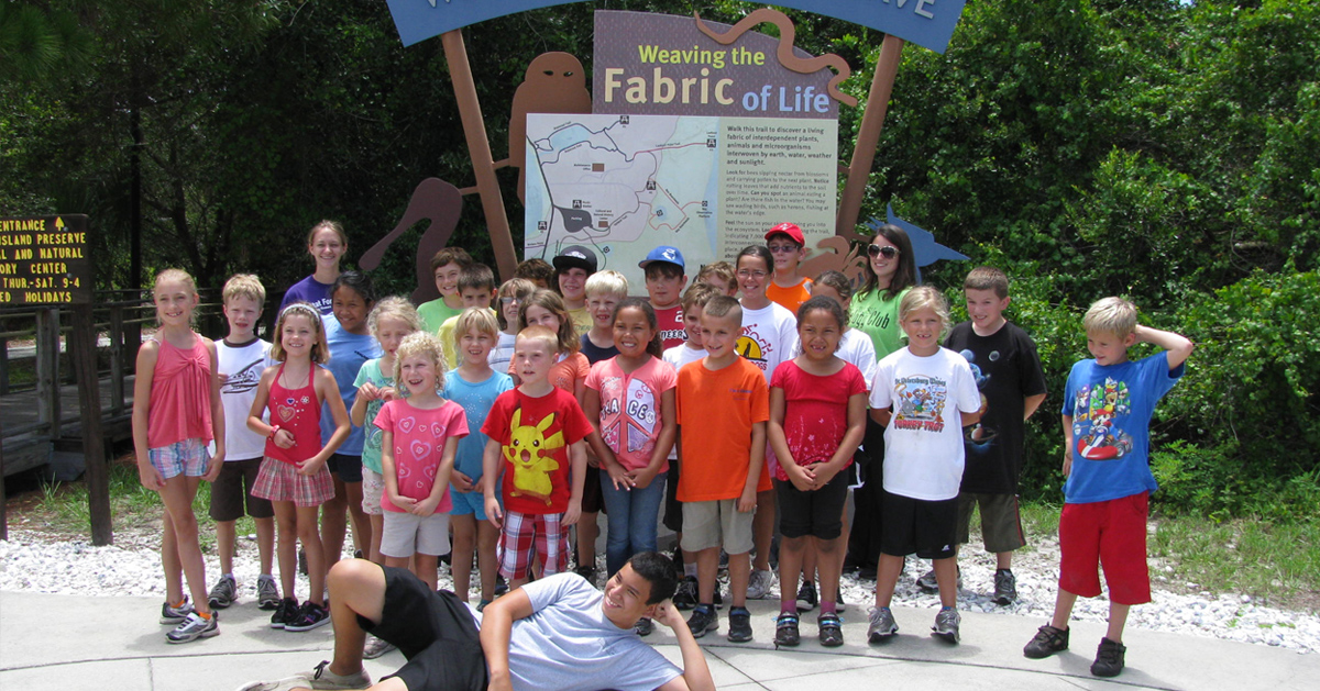 Student Education Programs   Friends of Weedon Island